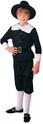 Pilgrim Boy - Child Costume-0