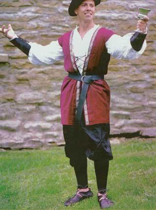 Ambassador's Jerkin Adult Costume-0