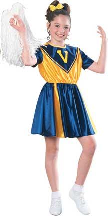 Cheerleader Childrens Costume-0