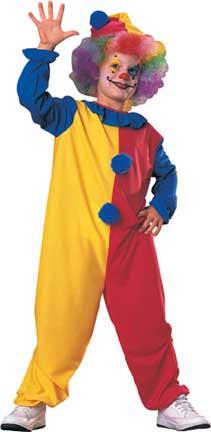 Clown Child Costume-0