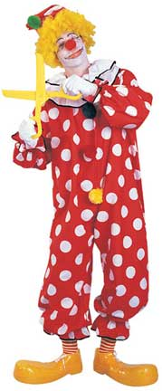 Dots the Clown Adult Costume-0