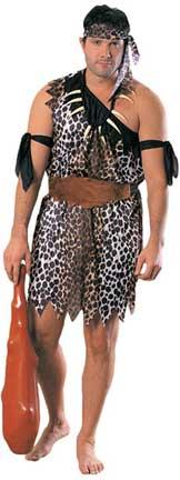 Caveman Adult Costume-0