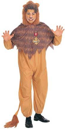 Cowardly Lion Adult Costume-0