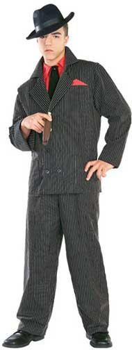 Gangster Adult Costume-0
