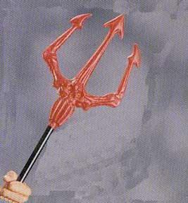 58 Inch Deluxe Blood Red Pitchfork-0