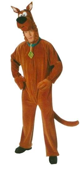 Scooby Doo Adult Deluxe Costume-0