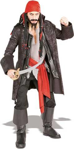 Pirate Capt'n Adult Costume-0