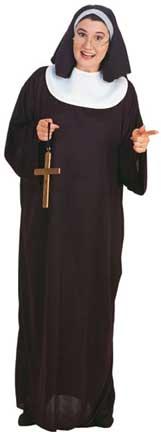 Plus Size Nun Costume-0