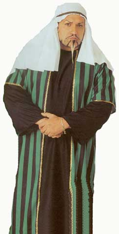 Arab Sheik Plus Size Adult Costume-0