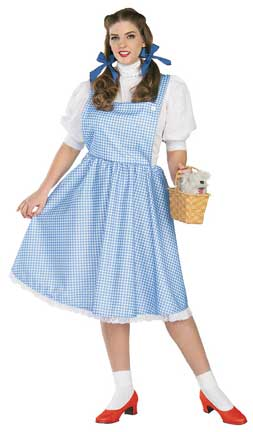 Dorothy Plus Size Adult Costume-0