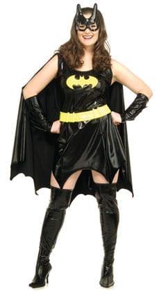 Batgirl Plus Size Ladies Costume-0