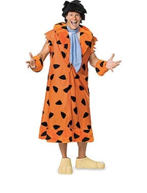 Fred Flintstone Plus Size Men's Costume-0