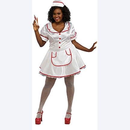 Nurse Plus Size Costume-0