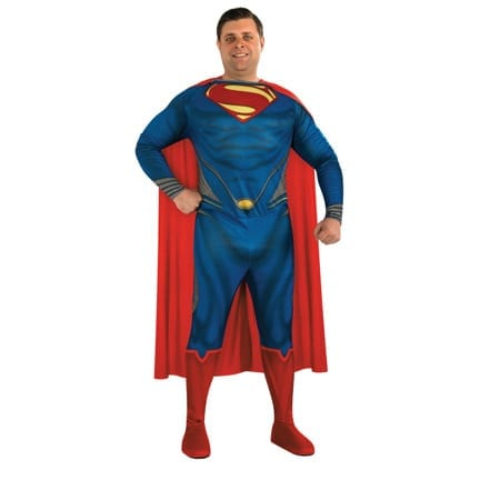 Superman Plus Size Costume-0