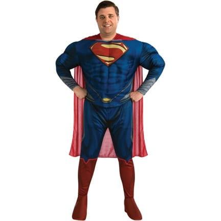 Deluxe Plus Size Superman-0