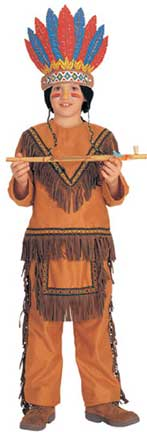 Native American Boys Childrens Costume-0