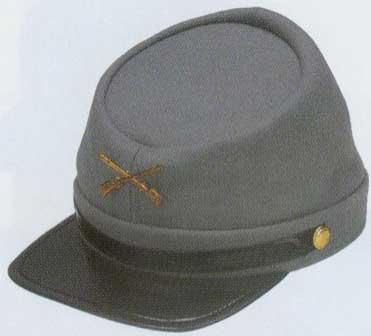 Confederate Cap - Wool-0
