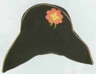 Napolean Velvet Hat-0