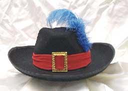 Musketeer Felt Hat-0