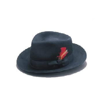 Wool Felt Blues Brothers Hat-0