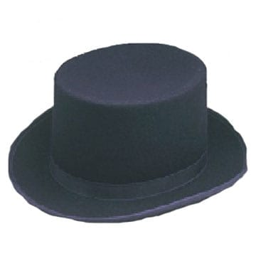 Wool Felt Top Hat-0