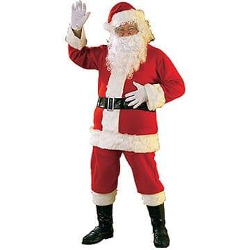 Santa Suit Flannel XL-0