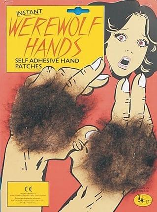 Werewolf Hand Patch-0
