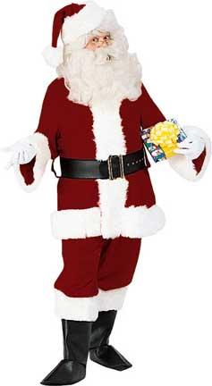 Deluxe Santa Suit-0