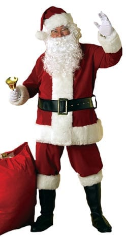Deluxe Velvet Santa Suit-0