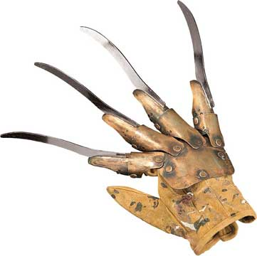 Deluxe Metal Freddy Glove-0