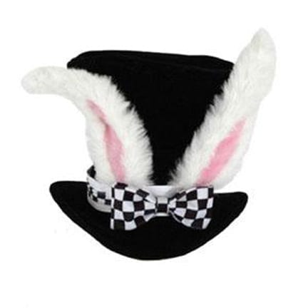 Bunny Ears Top Hat with Bowtie-0