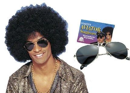 70's Aviator Sunglasses-0