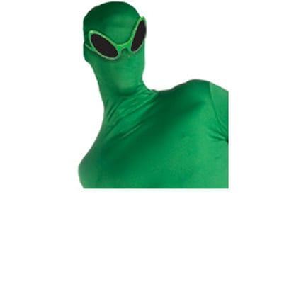 2nd Skin Green Alien Glasses-0