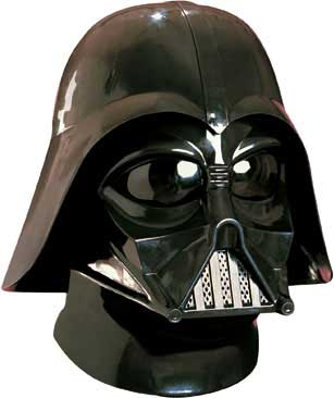 Darth Vader Two Piece Mask & Helmet Set-0