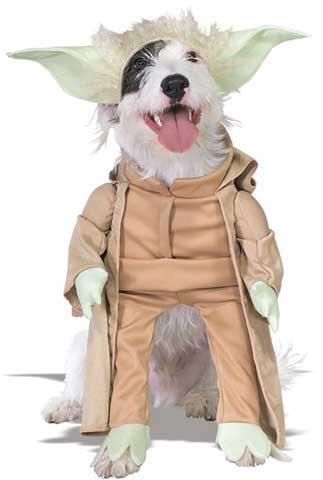 Yoda Pet Costume-0