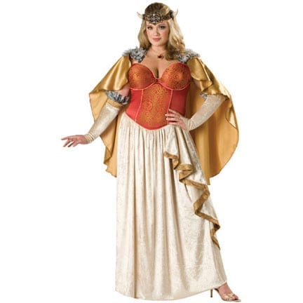 Viking Princess Adult Plus Size Costume-0