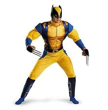 Wolverine Origins Classic Muscle Costume-0