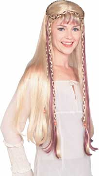 Medieval Maiden Wig-0