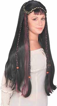 Faire Maiden Wig - Black-0