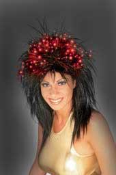 Fibor-Optic Wig - Punk Black-0