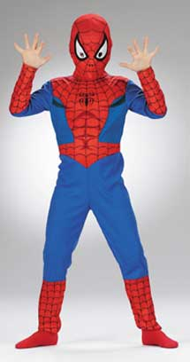 Spiderman Child Costume-0