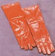 Vinyl Red Gloves-0