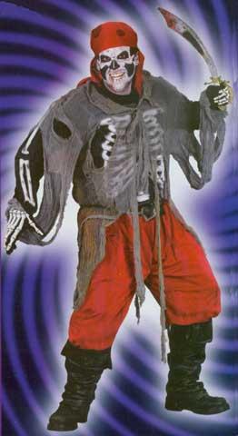 Buccaneer Bones Adult Costume-0