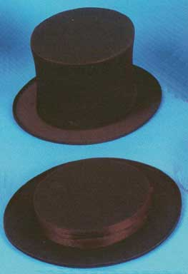 Top Hat - Adult Collapsible-0