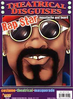 Rap Star Beard & Moustache-0