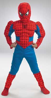 Spiderman Muscle Children Costume-0