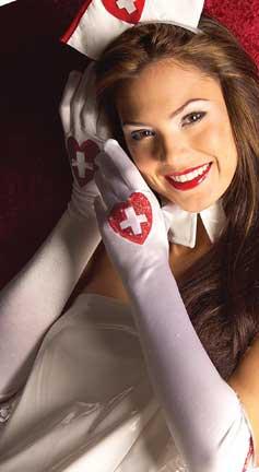 Gloves - Sexy Love Nurse-0