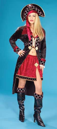 Queen of the Pirates Adult Costume-0