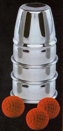 Aluminum Cups & Balls-0