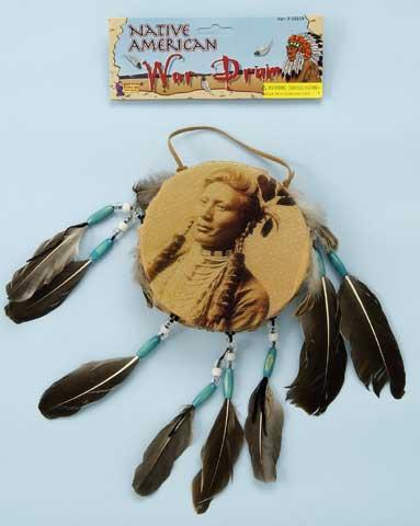 Indian War Drum-0